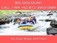 TERMURAH! WA +62 812-3963-0889, Harga Promo Telaga Waja Rafting Bali