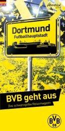 BVB geht aus – Leseprobe