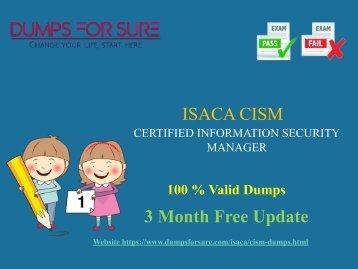 CISM Dumps