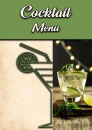Cocktail Menu-Cover
