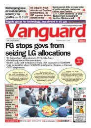 07052019 - FG stops govs from seizing LG allocations