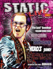 May 2019 Static Live Magazine