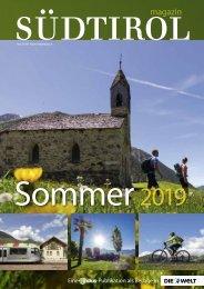 Südtirol Magazin Sommer 2019 - Die Welt