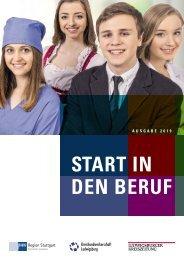 Start in den Beruf – das Ausbildungsmagazin in Zusammenarbeit mit der IHK
