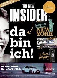 THE NEW INSIDER  No. I