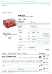 Buy Fildena XXX Fruit Chew 100mg Tablets Online - Is Fildena Safe?