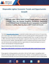 Disposable Lighter Economic Trends and Opportunistic Growth
