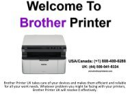 Brother Printer Offline Error | For Instant Help Call Us + (44) 800 041-8324