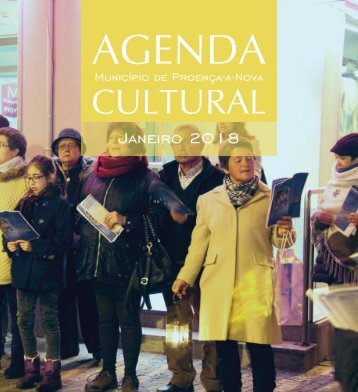Agenda Cultural de Proença-a-Nova - Janeiro de 2018