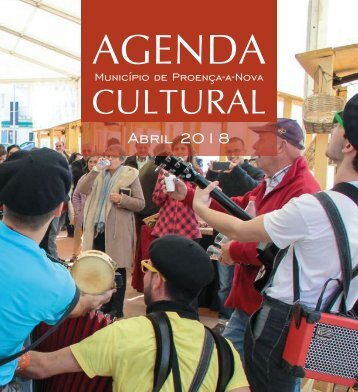 Agenda Cultural de Proença-a-Nova - Abril de 2018