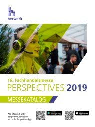 Herweck Perspectives 2019 – Messekatalog