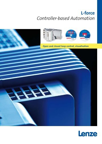 Catalogue Controller-based Automation - Lenze