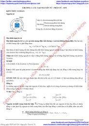 10 Chủ đề Công Phá các loại Bài Tập môn Hóa Học lớp 10, 11, 12 - Tập 1 (Phiên bản 2019)