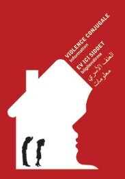 Violence Conjugale - Ev Ici Siddet - Arabic