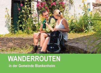 Wanderbroschüre Gemeinde Blankenheim