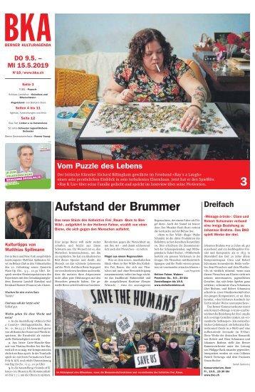 Berner Kulturagenda N°18