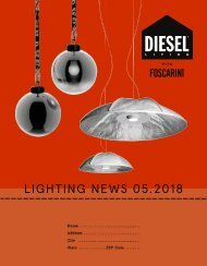 DIESEL WITH FOSCARINI_Catalogue_News_05-2018_FR-DE