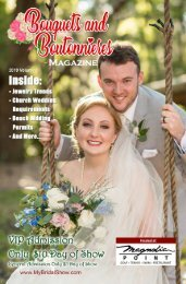 Bouquets And Boutonnieres Magazine May 2019