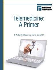 1sthcc ebook - Telemedicine: A Primer