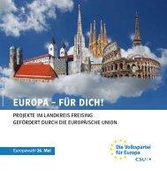 Europa - für Dich!