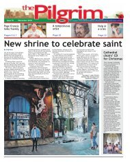 Issue 76 - The Pilgrim - November 2018 - The newspaper of the Archdiocese of Southwark