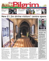 Issue 73 - The Pilgrim - July 2018 - The newspaper of the Archdiocese of Southwark