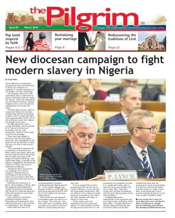 Issue 69 - The Pilgrim - March 2018 - The newspaper of the Archdiocese of Southwark