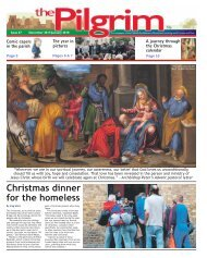 Issue 67 - The Pilgrim - December 2017/January 2018 - The newspaper of the Archdiocese of Southwark