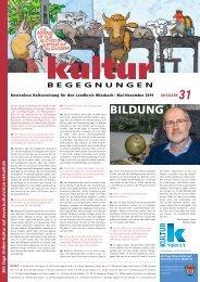 KB Nr. 31 Bildung