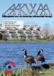 Wijkblad Aakwaa mei 2019