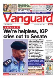 08052019 - I N S E C U R I T Y: We're helpless, IGP cries out to Senate