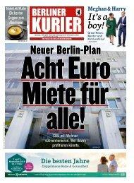 Berliner Kurier 07.05.2019