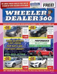Wheeler Dealer 360 Issue 19, 2019