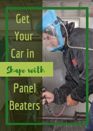 Get Your Car in Shape with Panel Beaters