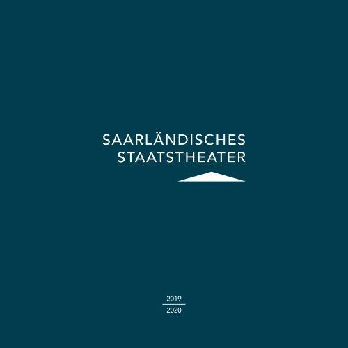 Saarländisches Staatstheater Spielzeitheft 2019/2020