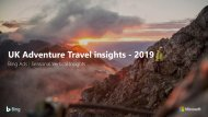 Adventure Holidays Insights
