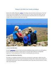 Jodhpur tour and travels
