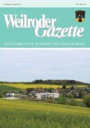 Weilroder Gazette Mai/Juni 2019