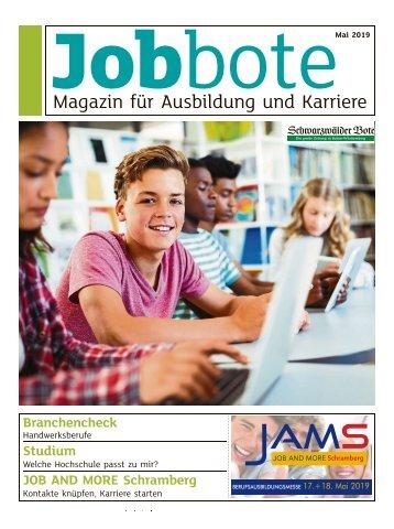 Jobbote - Magazin für Ausbildung und Karriere_JAMS_2019