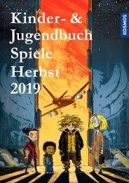 KOSMOS Kinder- & Jugendbuch Spiele Herbst 2019