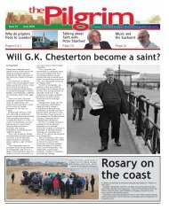Issue 72 - The Pilgrim - June 2018 - The newspaper of the Archdiocese of Southwark