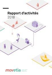 Movetia Rapport d'activités 2018