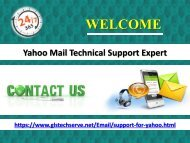 Yahoo Customer Care Number 1877-503-0107 For USA