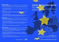 Initiative & Referendum Monitor 2004/2005