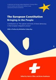 The European Constitution – Bringing in the People (2004)