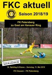 FKC Aktuell - 32. Spieltag - Saison 2018/2019