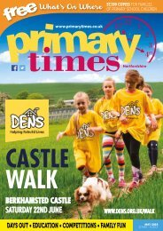 Primary Times Hertfordshire May edition