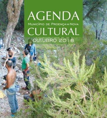 Agenda Cultural de Proença-a-Nova - Outubro de 2018