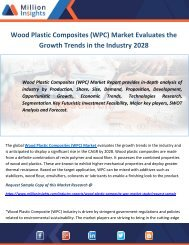 Wood Plastic Composites (WPC) Market Evaluates the Growth Trends in the Industry 2028