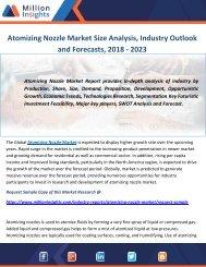 Atomizing Nozzle Market Size Analysis, Industry Outlook and Forecasts, 2018 - 2023